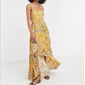 Free People Forever Yours Printed Maxi Dress
